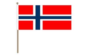 Image of   Norge Håndflag (30x45cm)