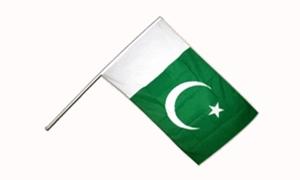 Image of   Pakistan Håndflag (15x22cm)