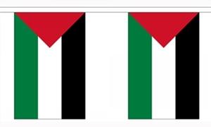 Image of   Palæstina Guirlander 3m (10 flag)