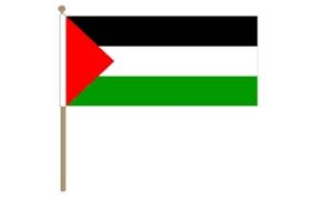 Image of   Palæstina Håndflag (30x45cm)