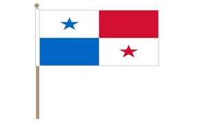 Image of   Panama Håndflag (30x45cm)
