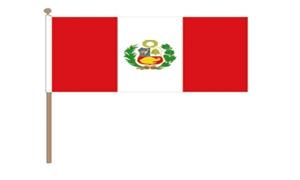 Image of   Peru Stat Håndflag (30x45cm)