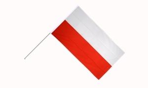 Image of   Polen Håndflag (15x22cm)