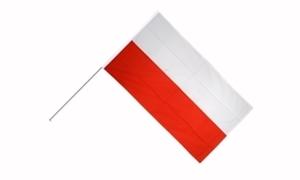Image of   Polen Håndholdt Papirflag (20x27cm)