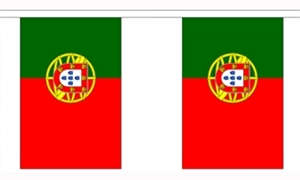 Image of   Portugal Guirlander 3m (10 flag)