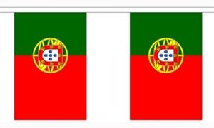 Image of   Portugal Guirlander 3m (10 flag)