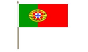 Image of   Portugal Håndflag (30x45cm)