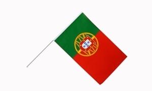 Image of   Portugal Håndholdt Papirflag (20x27cm)