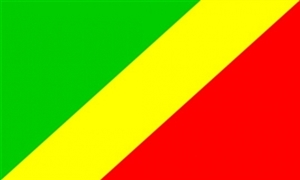 Image of   Republikken Congo Flag (90x150cm)