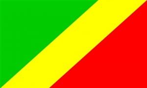 Image of   Republikken Congo Flag (90x150cm)