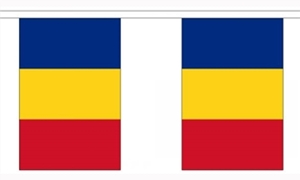 Image of   Rumænien Guirlander 9m (30 flag)