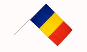 Image of   Rumænien Håndflag (15x22cm)
