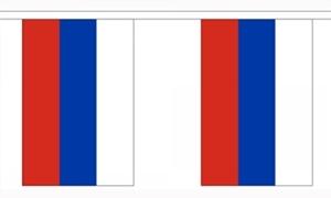 Image of   Rusland Guirlander 3m (10 flag)