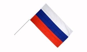 Image of   Rusland Håndholdt Papirflag (20x27cm)