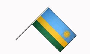 Image of   Rwanda Håndflag (15x22cm)