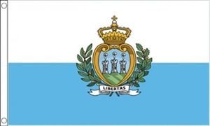 Image of   San Marino Stat Flag (90x150cm)