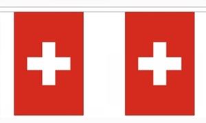 Image of   Schweiz Guirlander 3m (10 flag)