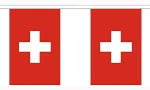 Billede af Schweiz Guirlander 9m (30 flag)
