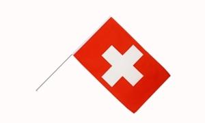 Image of   Schweiz Håndflag (15x22cm)