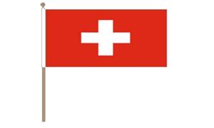 Image of   Schweiz Håndflag (30x45cm)