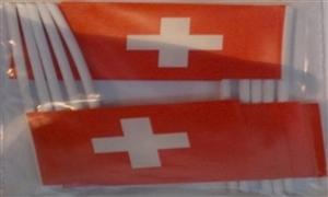 Image of   Schweiz Kageflag (30x48mm)