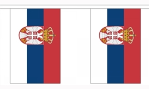 Image of   Serbien Stat Guirlander 3m (10 flag)