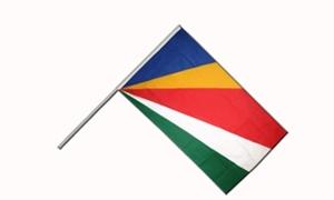 Image of   Seychellerne Håndflag (15x22cm)