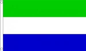 Image of   Sierra Leone Flag (90x150cm)