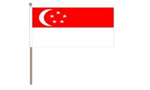 Image of   Singapore Håndflag (30x45cm)