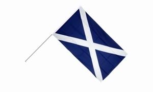 Image of   Skotland Håndholdt Papirflag (20x27cm)
