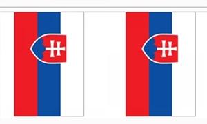 Image of   Slovakiet Guirlander 3m (10 flag)