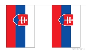 Image of   Slovakiet Guirlander 9m (30 flag)