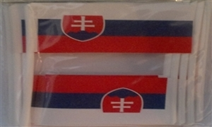 Image of   Slovakiet Kageflag (30x48mm)
