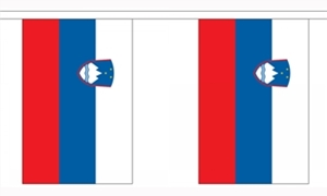 Image of   Slovenien Guirlander 3m (10 flag)