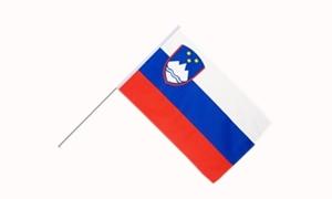 Image of   Slovenien Håndflag (15x22cm)