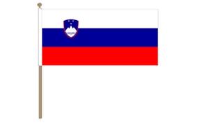 Image of   Slovenien Håndflag (30x45cm)