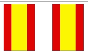 Image of   Spanien Guirlander 3m (10 flag)