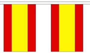 Image of   Spanien Guirlander 9m (30 flag)