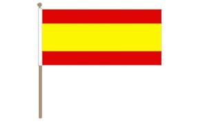 Image of   Spanien Håndflag (30x45cm)