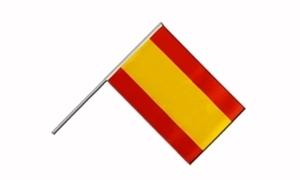 Image of   Spanien Håndholdt Papirflag (20x27cm)