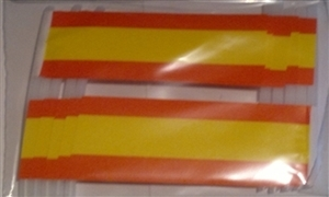 Image of   Spanien Kageflag (30x48mm)