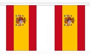 Image of   Spanien Stat Guirlander 3m (10 flag)