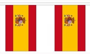 Image of   Spanien Stat Guirlander 9m (30 flag)