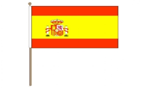 Image of   Spanien Stat Håndflag (30x45cm)