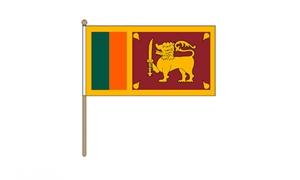 Image of   Sri Lanka Håndflag (30x45cm)