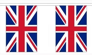 Image of   Storbritannien Guirlander 9m (30 flag)