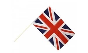 Image of   Storbritannien Håndholdt Papirflag (20x27cm)