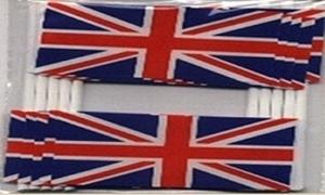 Image of   Storbritannien Kageflag (30x48mm)