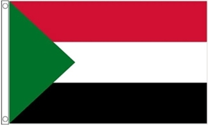 Image of   Sudan Flag (90x150cm)