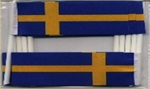 Image of   Sverige Kageflag (30x48mm)